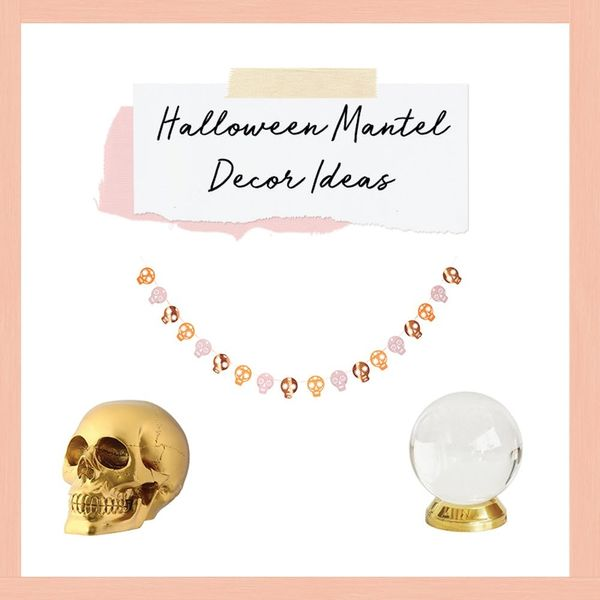 3 Spooky Ways to Style Your Mantel for Halloween
