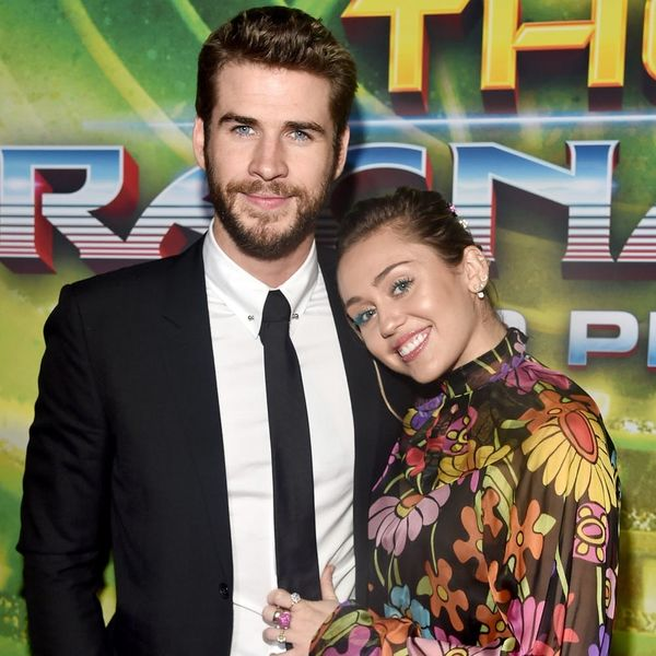 Miley Cyrus and Liam Hemsworth Walked Their First Red Carpet Together in Four Years