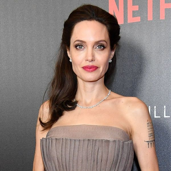 Angelina Jolie Once Went to a Premiere With Her Kid's Pee on Her