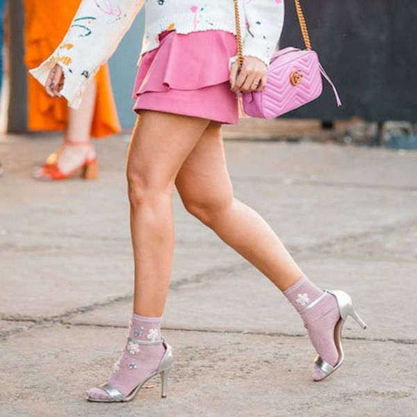 You Can Pull It Off: 6 Tips to Wearing Socks With Heels Like a Style Star