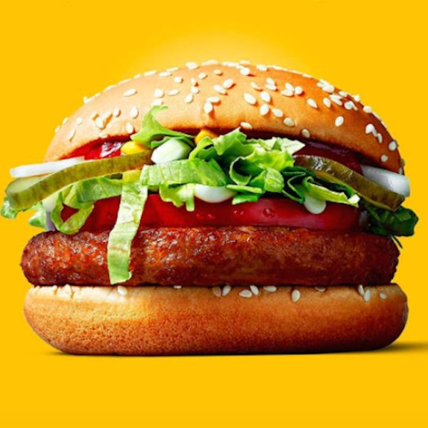 McDonald's Introduced a Vegan Sandwich in Finland and OMG