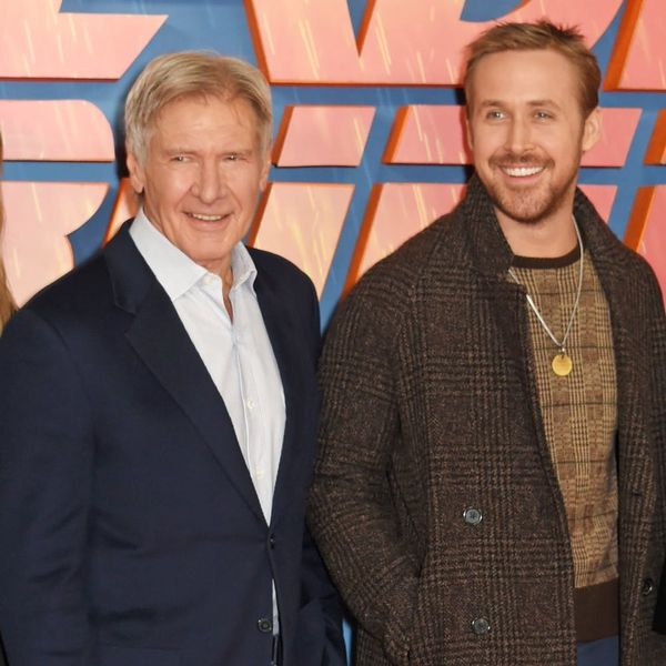 """Harrison Ford and Ryan Gosling Can't Keep It Together in This Hilarious """"Blade Runner 2049"""" Interview"""