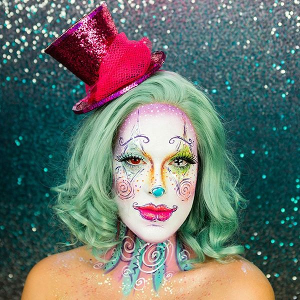 The Only Clown Costume Makeup Tutorial You Need This Halloween