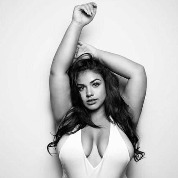 This Plus-Size Model Copied Kim Kardashian's Swimwear Photoshoot and It's Fire