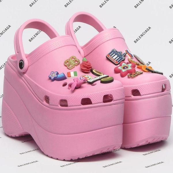 "Balenciaga's Platform Crocs Will Have You Asking, ""But, Why?"""