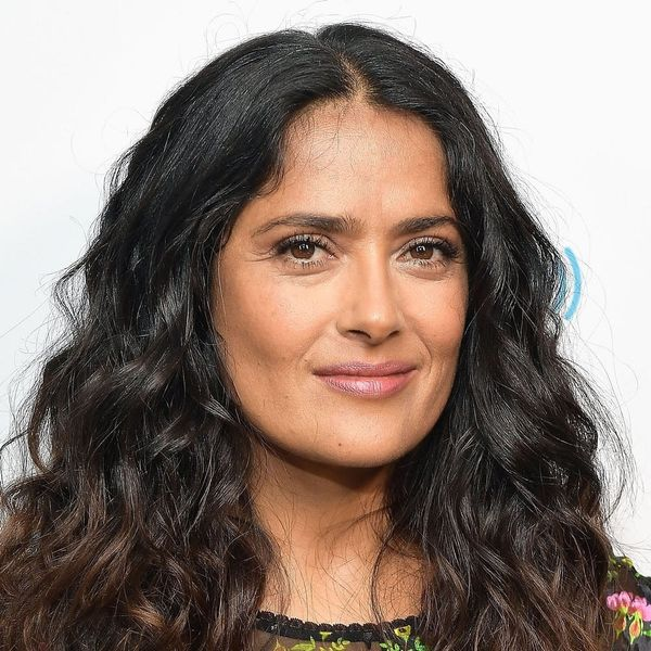 Salma Hayek Pinault Is Nearly Unrecognizable As a Blonde