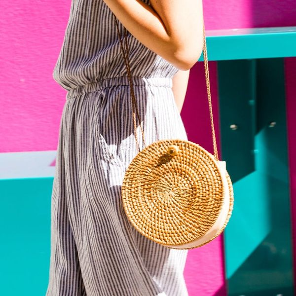 DIY That Must-Have Straw Circle Bag for $25