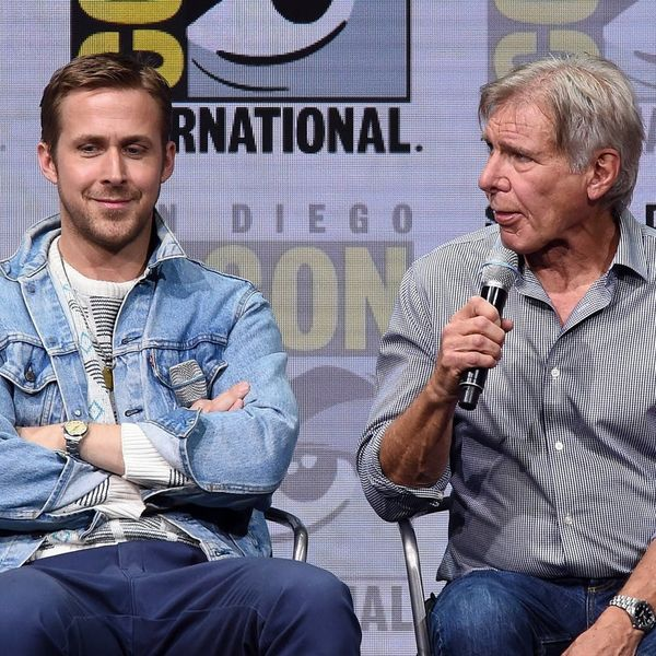Watch Harrison Ford Repeatedly Forget Ryan Gosling's Name and Just Try Not to Laugh