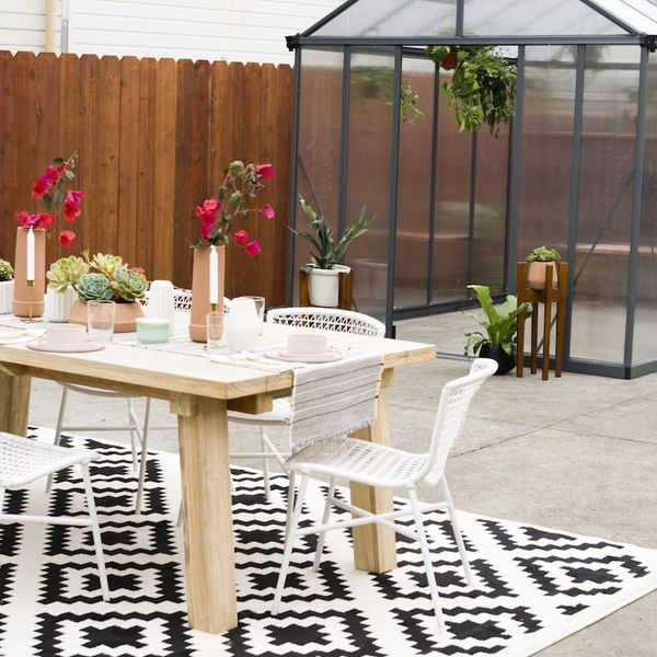 This Millennial Pink-Inspired Backyard Makeover Is What Outdoor Living Is All About