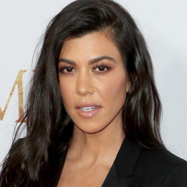*This* Is Kourtney Kardashian's Secret to Super Strong Nails