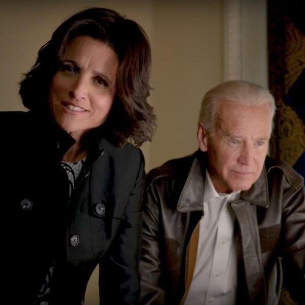 "Joe Biden Sends Fellow ""Veep"" Julia Louis-Dreyfus a Sweet Note After Breast Cancer Diagnosis"