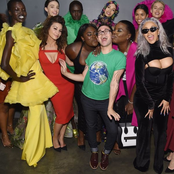 Designer Christian Siriano Just Followed His Diverse NYFW Showing With an Unapologetic Plea for Inclusivity in Fashion