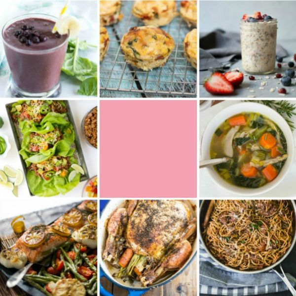 This *Capsule* Menu, Recipes, and Grocery List Makes Meals for a Month