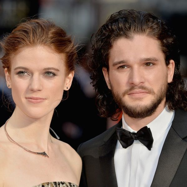 Jon Snow and Ygritte — Er, Kit Harington and Rose Leslie Are Engaged!