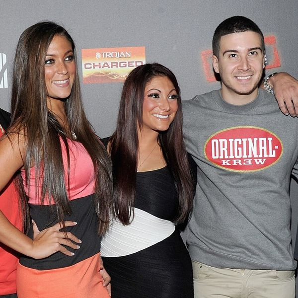 """The Cast of """"Jersey Shore"""" Just Surprised Deena Cortese With a Super Sweet Engagement Party"""