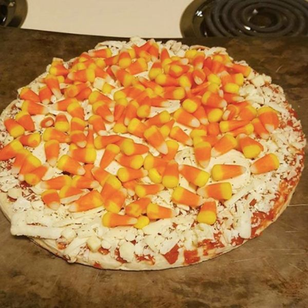 Candy Corn Pizza Has the Internet Completely Divided