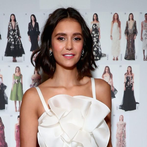 Nina Dobrev Just Chopped Her Hair into the Perfect, Piece-y Bob