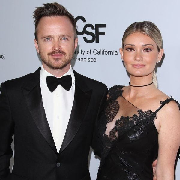 Aaron Paul and Wife Lauren Paul Are Expecting Their First Child — See Their Announcement!