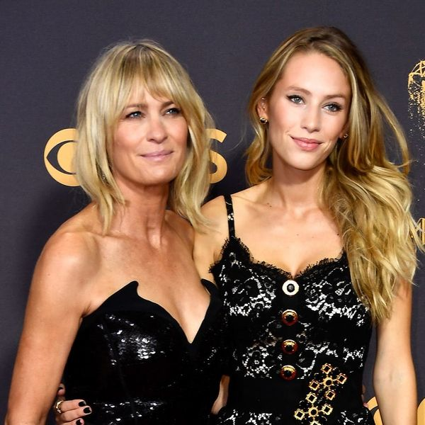 Robin Wright and Daughter Dylan Penn Look Nearly Identical at Emmys 2017