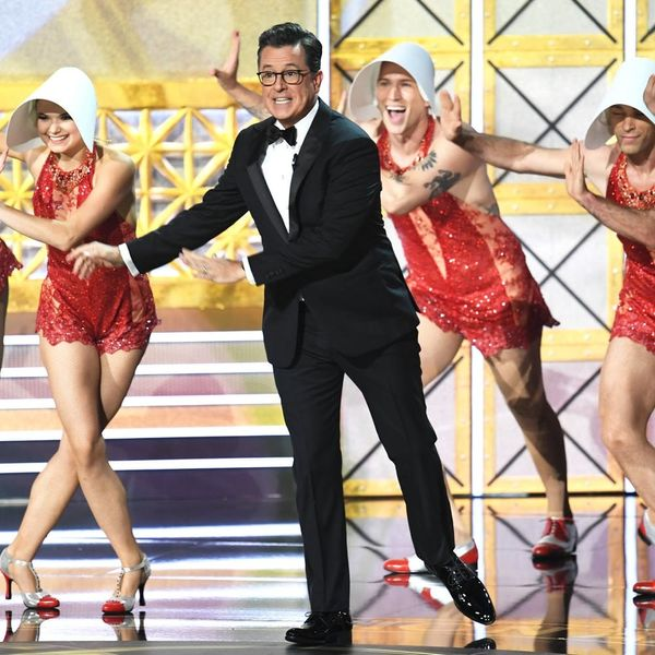 Stephen Colbert's Musical Emmys 2017 Opening Proves the World's a Little Better on TV