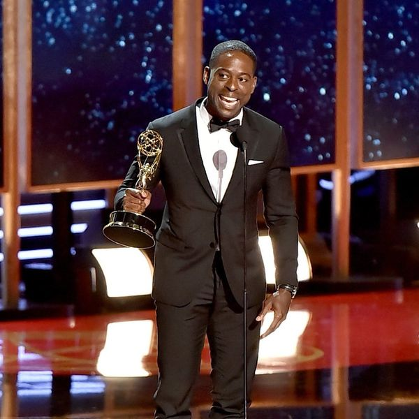 Sterling K. Brown Got Played Off at the 2017 Emmys But Here's the Rest of His Speech
