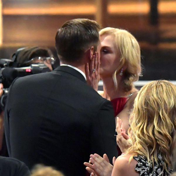People Are Loving Nicole Kidman and Alexander Skarsgard's Emmys 2017 Kiss