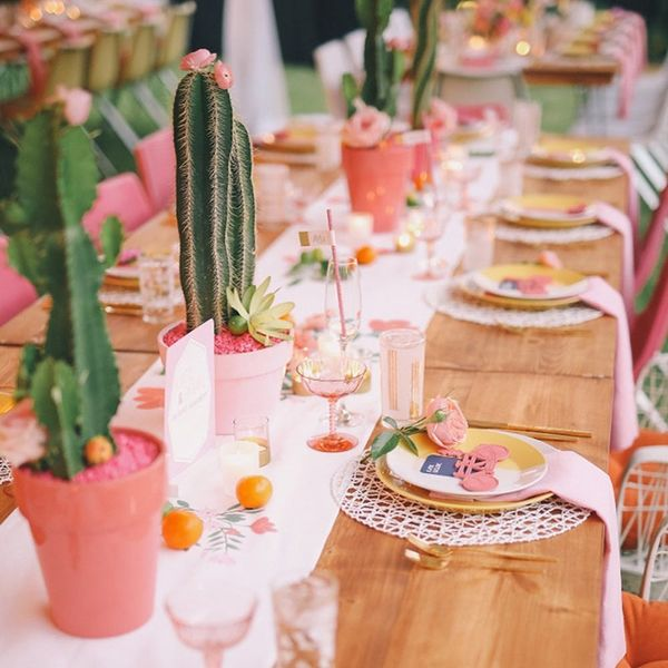 13 Southwestern Bridal Shower Ideas for the Cactus-Obsessed Gal