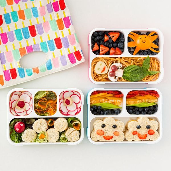3 Quick + Easy Bento Box Lunch Ideas for Back to School