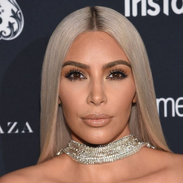 Kim Kardashian Applies Highlighter to These Surprising Body Parts