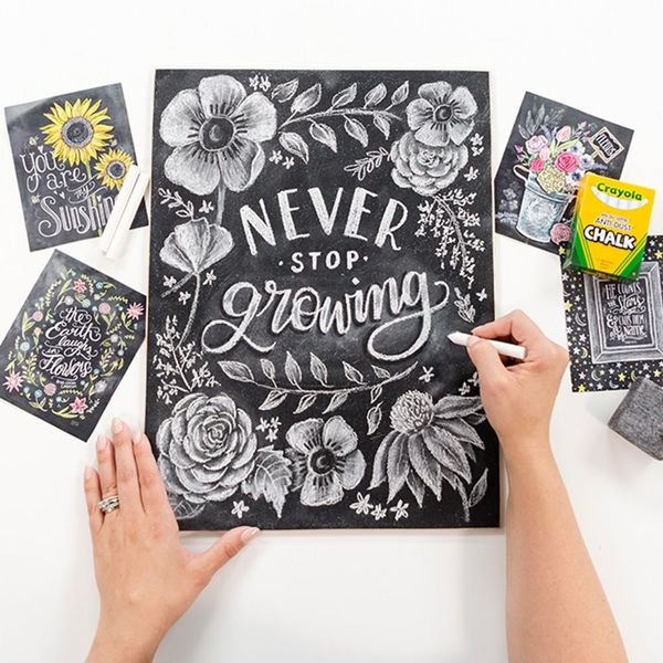 All Of Valerie McKeehan's Tips, Tricks, And Techniques To Complete Your Own Chalk Illustration