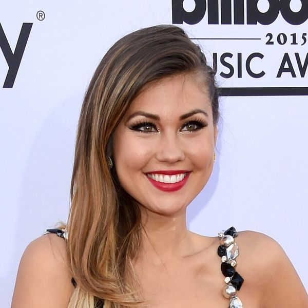 """""""Bachelor"""" Alum Britt Nilsson Just Tied the Knot in a Pair of Bejeweled Converse Sneakers"""