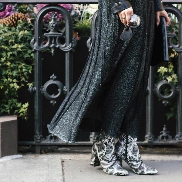 The Street Style Approved Way to Rock a Maxi Dress for Fall