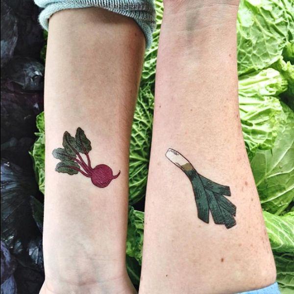 15 Cute AF Food Tattoos People Are 'Gramming
