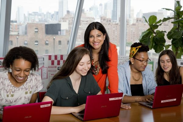 Reshma Saujani Is on a Mission to Fix Tech's Women Problem — One Girl at a Time