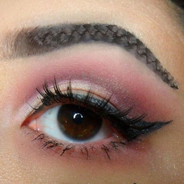 Braided Brows Are the New Squiggle Brows