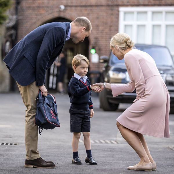 Prince George Arriving for His First Day of School Is the Cutest Thing You'll See Today
