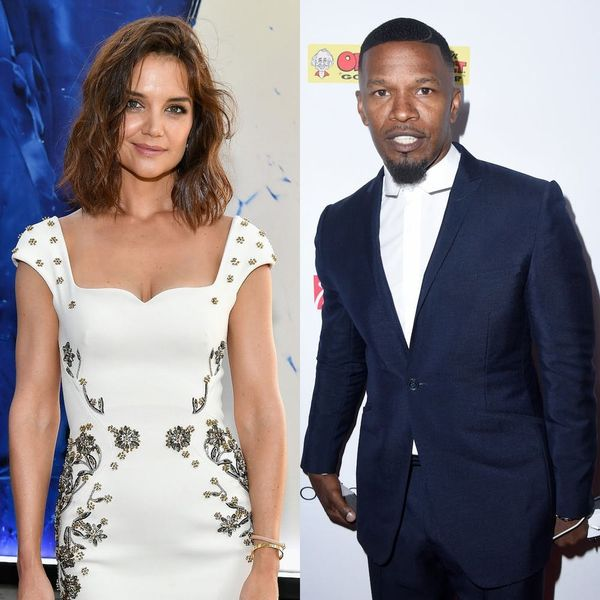 PDA Alert! Katie Holmes and Jamie Foxx Were Spotted Holding Hands on the Beach