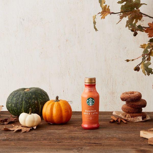 Starbucks Unveils New Pumpkin Spice Drink