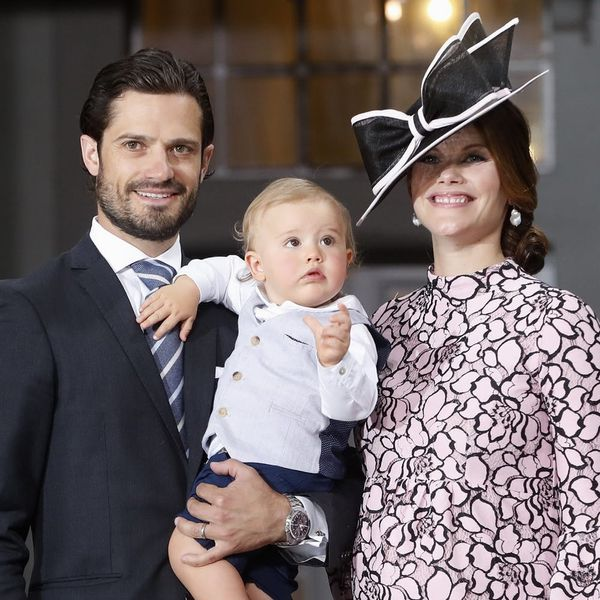 This Is the Ultra-Regal Moniker Princess Sofia and Prince Carl Philip of Sweden Have Chosen for Their Baby Boy