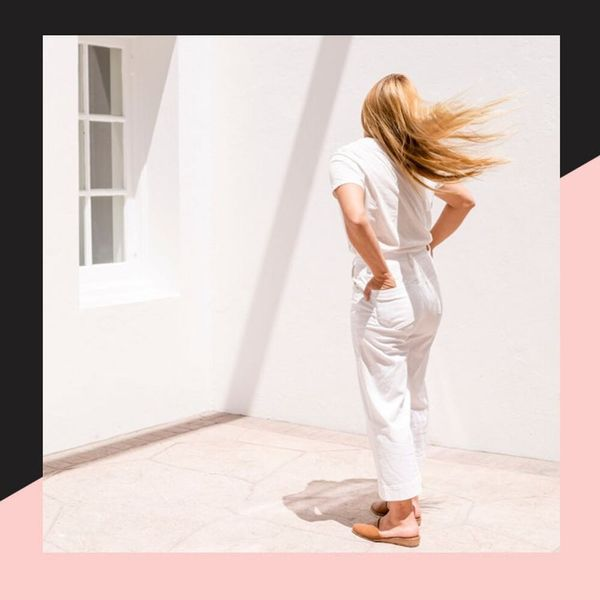 How to Wear White Jeans All Year Long