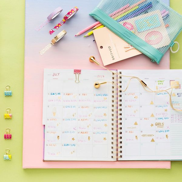 7 Ways to Form a Habit with Our Brit + Co Planner