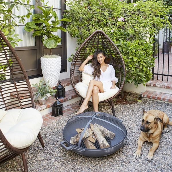 Shay Mitchell's Backyard Makeover Is a Moroccan-Inspired Oasis