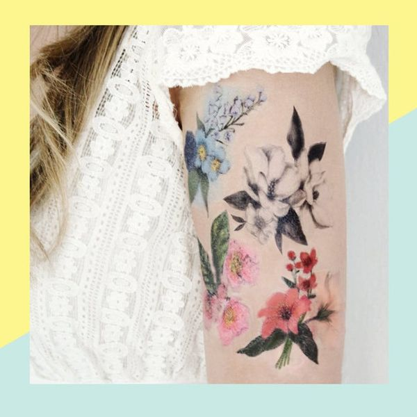 7 Jaw-Dropping Temporary Tattoos When You Can't Commit