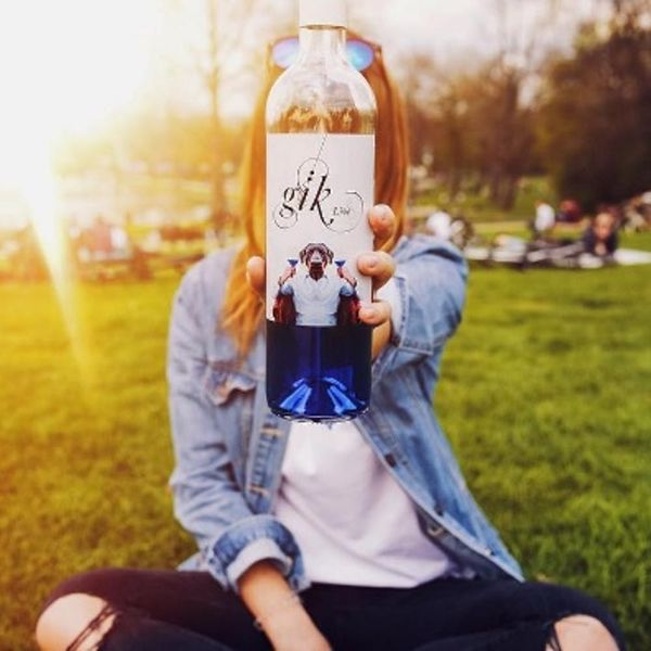 Blue Wine Is the Surprising Drink You'll Be Imbibing This Summer