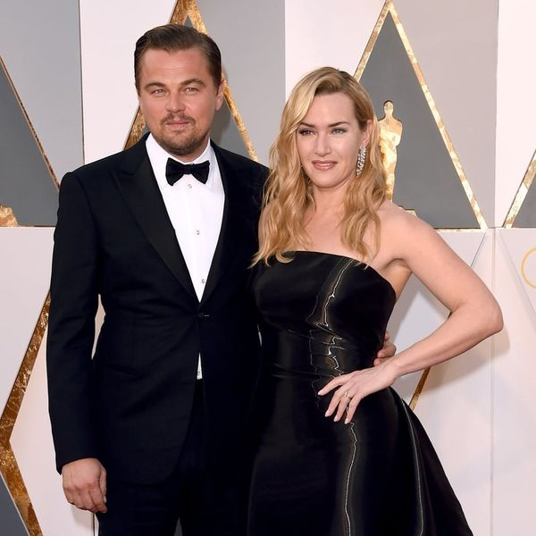 "Kate Winslet and BFF Leonardo DiCaprio Recite Lines from ""Titanic"" to Each Other"