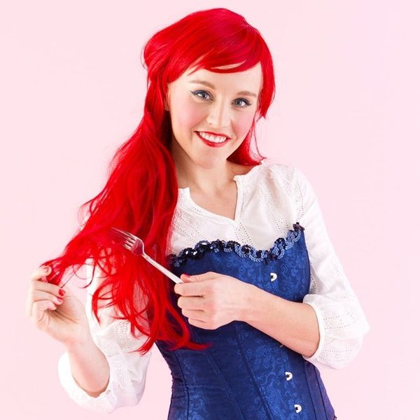 Be Part of Their World With This DIY Ariel Costume