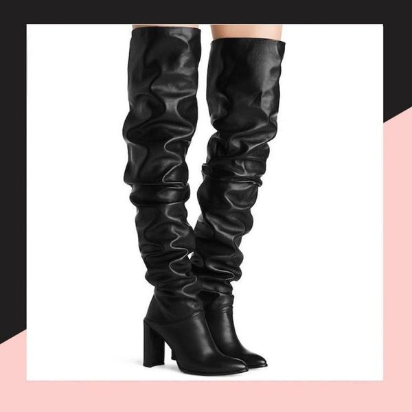 6 Slouch Boots That Will Be Big for Fall