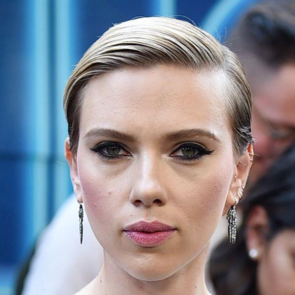 Did Scarlett Johansson Just Get a New Back Tattoo?