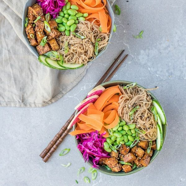 14 Vegan Rice and Noodle Bowls for Meatless Monday