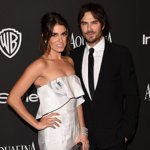 PHOTO: Nikki Reed + Ian Somerhalder Rock This Season's Hottest Wedding Trend